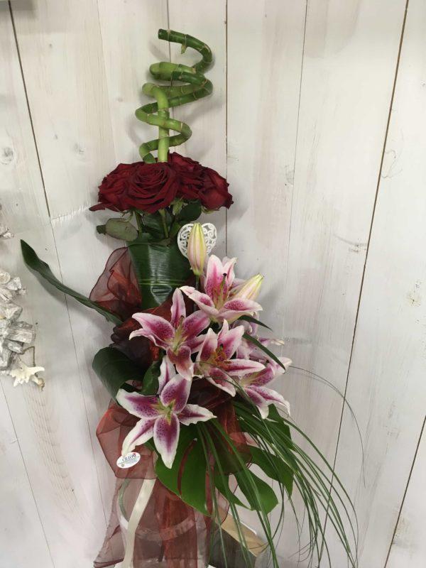 Mazzo_rose_lilium
