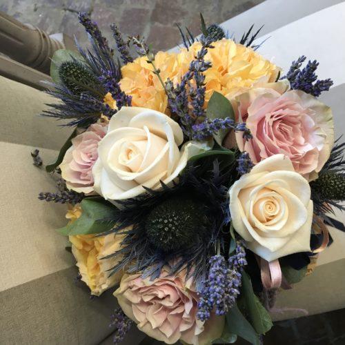 Bouquet Eryngium